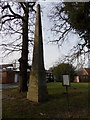 TQ1693 : Stanmore: the obelisk within the grounds of the RNOH by Chris Downer