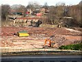 SJ9595 : Across the former dyeworks by Gerald England
