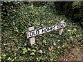 TM4759 : Old Homes Road sign by Adrian Cable