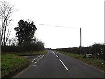 TM4560 : B1353 Thorpe Road, Aldringham by Geographer