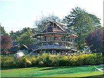 TQ3473 : Bandstand, Horniman Gardens by Robin Webster
