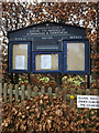 TM4560 : St.Andrew's Church Notice Board by Adrian Cable