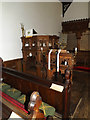 TM4560 : Pulpit & Lectern of St.Andrew's Church by Adrian Cable