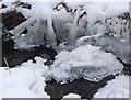 NT2247 : Ice in the Fairydean Burn by Jim Barton