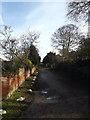 TM4656 : Park Lane, Aldeburgh by Adrian Cable