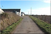 NX1057 : Road at Mahaar Farm by Billy McCrorie