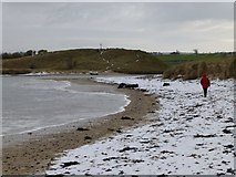 NU2410 : Mouth of River Aln in winter by Russel Wills