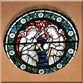 SJ9594 : St Thomas the Apostle: Rose Window by Gerald England