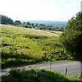 SJ9693 : View over Higham Lane by Gerald England