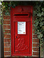 TM4656 : Lee Road Edward VII Postbox by Adrian Cable