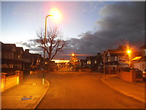 TQ1885 : Sunset over Kingsway by David Howard