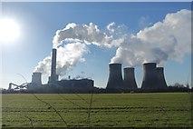 SJ5486 : Fiddlers Ferry Power Station by Matt Harrop