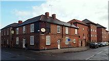 SK7953 : Eldon Street/Albert Street Junction, Newark, Notts. by David Hallam-Jones