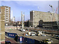 TQ3278 : Groundworks following demolition, Heygate Estate by Robin Stott