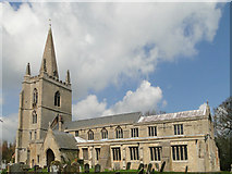 TF5617 : Tilney All Saints church by Adrian S Pye