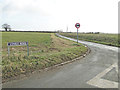 TM2287 : Lonely Road junction at Sweeting's Green by Adrian S Pye