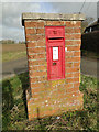 TM2283 : Victorian Postbox at Cross Road by Adrian S Pye