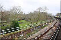 TQ2775 : Looking back from charter train approaching Clapham Junction by Roger Templeman