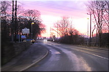 SD7543 : Chatburn Road at sunset by Colin Pyle