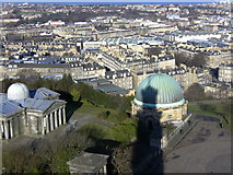 NT2674 : Calton Hill (view from Nelson Monument) by Stu JP