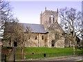 SE9136 : St Nicholas, North Newbald by Philip Pankhurst