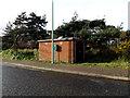 TM4557 : Gas Sub-station off Church Farm Road by Adrian Cable