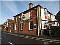 TM4557 : The Railway Public Inn House, Aldeburgh by Adrian Cable