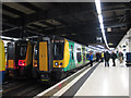 TQ2982 : London Midland trains at Euston by Stephen Craven