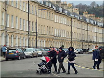 ST7565 : Afternoon strollers, Bath by Jonathan Billinger