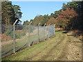 SU8762 : Range fence, Barossa Common by Alan Hunt