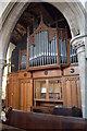 TF0207 : Organ, All Saints' church, Stamford by Julian P Guffogg
