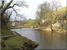 SE0361 : The Wharfe above Burnsall by Gordon Hatton