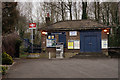 TQ0075 : Sunnymeads Railway Station by Peter Trimming
