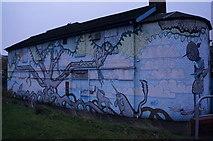 SK3587 : Mural on Gibraltar Street, Sheffield by Ian S