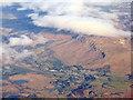 NS5679 : Strathblane and the Strathblane Hills escarpment by M J Richardson