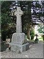 TL5997 : War memorial at Ten Mile Bank by Adrian S Pye