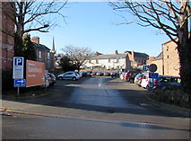 SO6024 : Car park on the west side of Henry Street, Ross-on-Wye by Jaggery