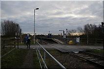 TA0623 : Barrow Haven Train Station, Lincolnshire by Ian S