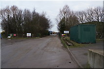 TA0623 : Entrance to Old Ferry Wharf Timber Terminal by Ian S
