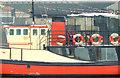 "J3474 : The Mona"", Belfast (February 2015) by Albert Bridge"