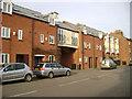 SK8508 : Jubilee Court flats, Northgate, Oakham by Robin Stott