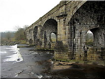 NY7063 : Alston Arches Viaduct, Haltwhistle by Andrew Curtis