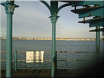 SY6878 : Weymouth: view to the Esplanade from the Nothe Pier by Jonathan Hutchins