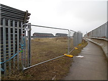 TA1228 : Trans Pennine Trail at Alexandra Dock, Hull by Ian S