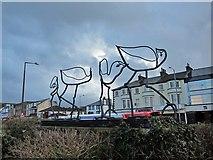 SD4364 : Promenade bird sculpture by Richard Dorrell