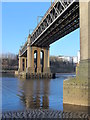 NZ2463 : The River Tyne and the King Edward Bridge (2) by Mike Quinn