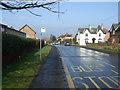 TA1242 : Bus stop on Main Street, Long Riston by JThomas