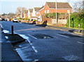 SO5239 : Church Road speed humps, Hereford by Jaggery