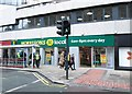 SE2933 : Morrisons local - Infirmary Street by Betty Longbottom
