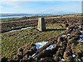 NS3778 : Trig point, Kipperoch by Lairich Rig